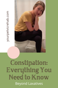 Constipation Pin